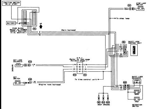 wiring diagram nissan d22 nissan navara d22 central locking wiring diagram
