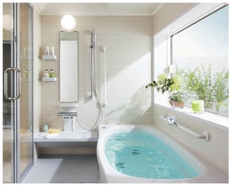 ideas for small bathroom design toto catalog tub with narrow curved seat typical shower
