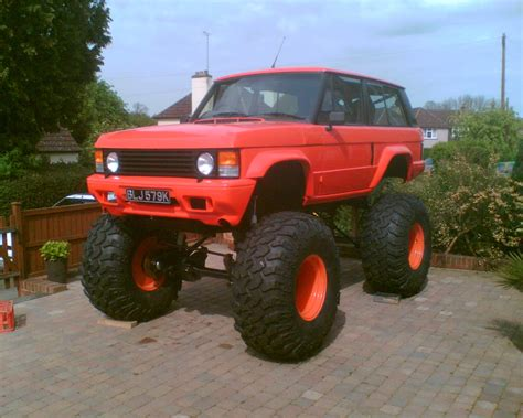 Land Rover Range Rover Modification by Nitrosean 1971 Land Rover Range Rover Specs Photos