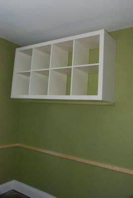 wall mount expedit office ideas pinterest