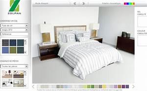 Simulateur Décoration Intérieur Gratuit : simulation de peinture pour chambre ~ Melissatoandfro.com Idées de Décoration