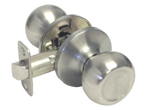 Satin Nickel Passage Handle Round **** Style 5765DC hall way closet cheap discount budget