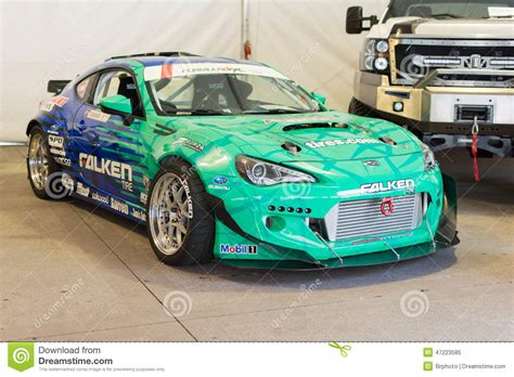 subaru brz drift falken tire subaru brz formula drift car on display
