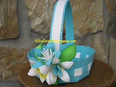 Cesta en goma eva Tutorial gratuito Kids crafts