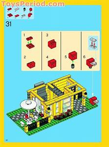 Lego 4996 Beach House Set Parts Inventory And Instructions