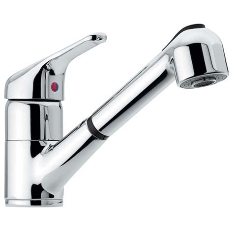 cristina rubinetti 60 rubinetto cucina monocomando con doccia estraibile