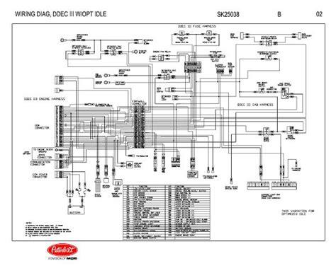 Detroit Diesel Ddec Iii With Optional Idle Engine Wiring
