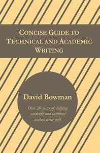 Concise Guide To Technical And Academic Writing  U2013 Hostile Editing