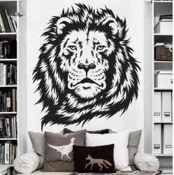 wall stickers  kids room zoo african animal jungle lion