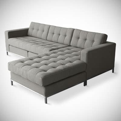 mid century modern sectional sofa mid century modern sofas chairs and accessories from gus