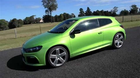 volkswagen green vw scirocco r green review youtube