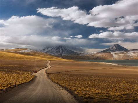 Deserts Way Through The Atacama Desert In Chile Desktop ...
