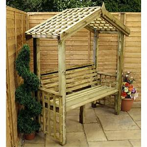 super exterieurideen fur gartenbank mit dach archzinenet With katzennetz balkon mit garden bench seat