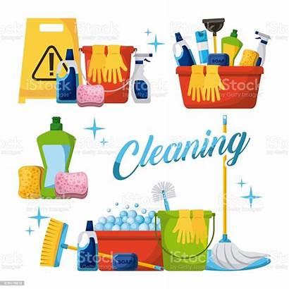 Cleaning Mop Bucket Spray Brooms Sponge Elements