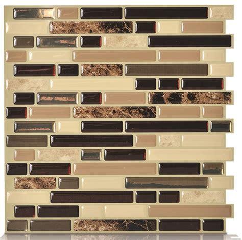 peel and stick tiles for kitchen backsplash art3d 12 quot x 12 quot peel and stick backsplash tiles for