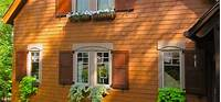 wood exterior shutters Exterior shutters add value and increase the appeal of your house - Interior Design Explained