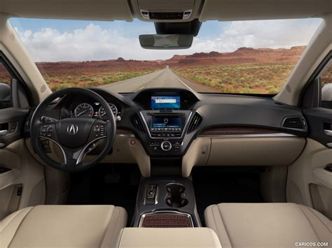 acura mdx  technology package interior cockpit