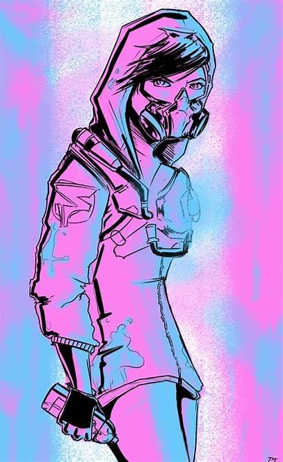 Tracer Graffiti Deviantart Overwatch Tattoo Drawings Widowmaker