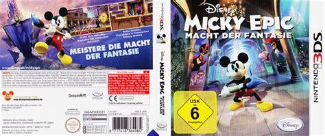 Aecp Disney Epic Mickey Power Of Illusion