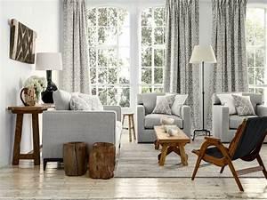 Wohnzimmermöbel Weiß Holz : wohnzimmer weiss grau holz ihr traumhaus ideen ~ Frokenaadalensverden.com Haus und Dekorationen