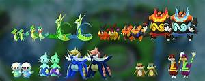 Pokemon Go Tier Chart Dataminer Discovers First Look At Gen 5 Sprites In Pokemon