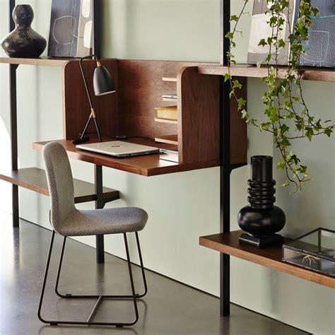 bureau etagere design gain de place meuble 2 en 1 pratique et multifonction