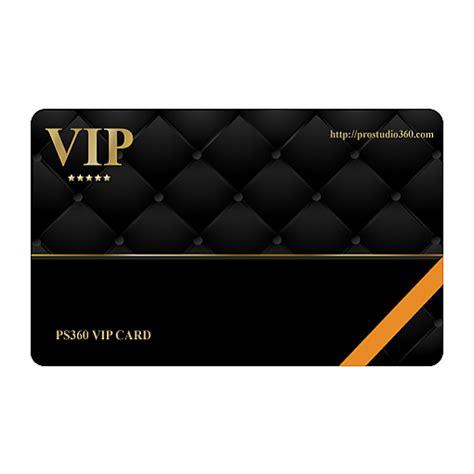 vip membership card photo video studio equipment