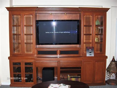 Custom Wall Units & Entertainment Centers   Cabinet