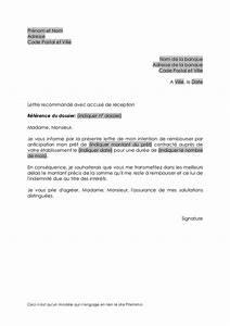 Remboursement Assurance Emprunteur Lettre Type : remboursement pr t anticipation ~ Gottalentnigeria.com Avis de Voitures