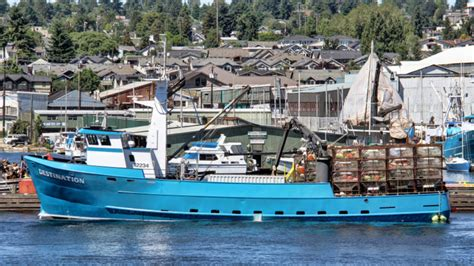 Destination Fishing Boat by Coast Guard Searching For Seattle Fishing Boat Missing In