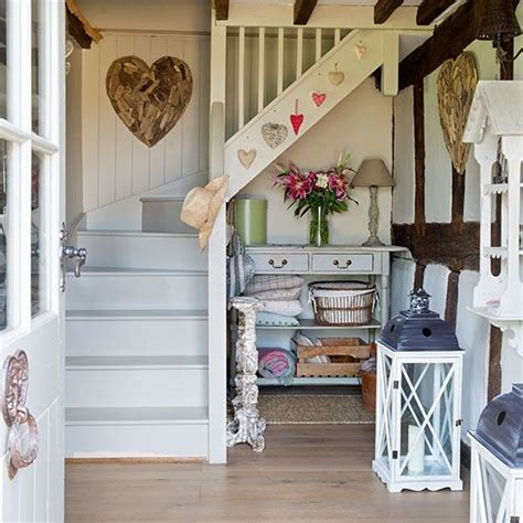 country hallway ideas country hallway with painted stairs painted stairs hallway ideas and hallway decorating