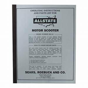 Allstate Manual  Parts Guide   788