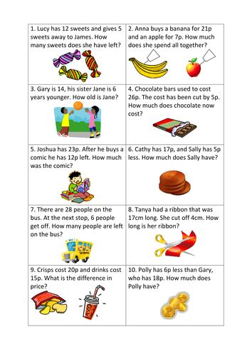 maths word problems differentiated worksheets y3 by l e1984 teaching resources tes
