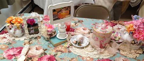shabby chic tea decorations kennedy s shabby chic tea party project nursery