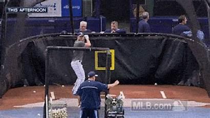 Ball Into Hits Joyce Pitching Machine Right