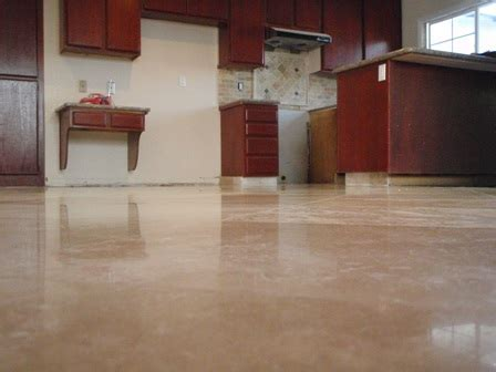 Travertine Polishing, Polishing Travertine Floors