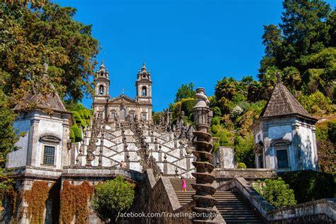 fotos en el santuario do bom jesus do monte en braga turismo en portugal