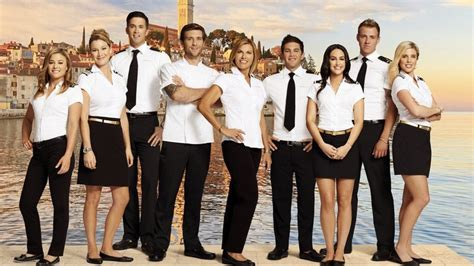 Below The Deck New Cast by Below Deck Mediterranean Cast Meet The Season 2 Crew