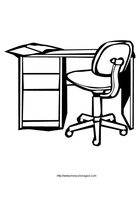 bureau dessin bureau a dessin dessin meuble coloriage un bureau