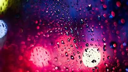 Droplets Bokeh Surface Gradient 720p