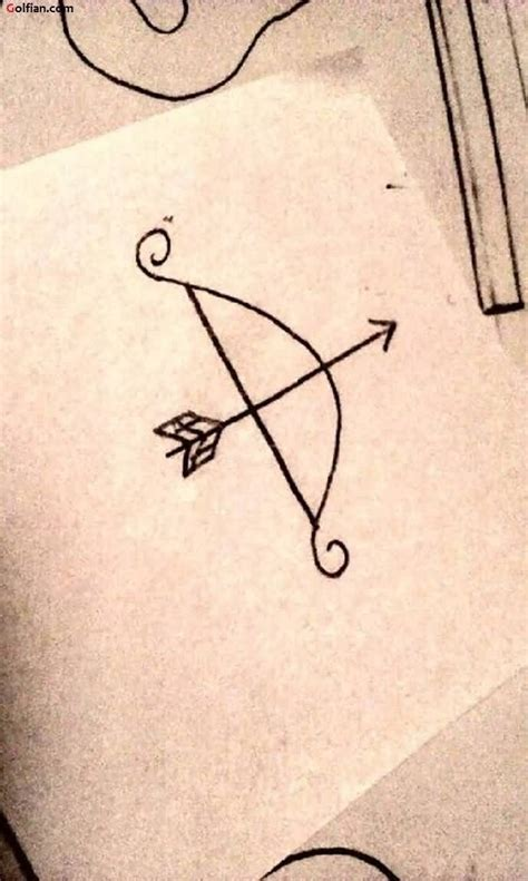 55+ Most Amazing Bow Arrow Tattoo Designs  Tribal Bow And