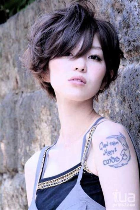Latest Short Hairstyles 2014 For Women And Girls 002