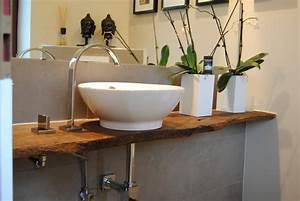 Waschtisch Für Aufsatzwaschbecken Aus Holz : waschtisch aus altem eichenbrett ge lt konzepte aus holz ~ Sanjose-hotels-ca.com Haus und Dekorationen