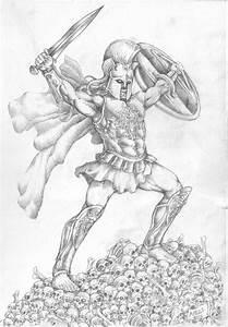 Ares God of War by CimmerianIllustrator on DeviantArt
