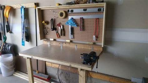 build  wall mounted folding workbench
