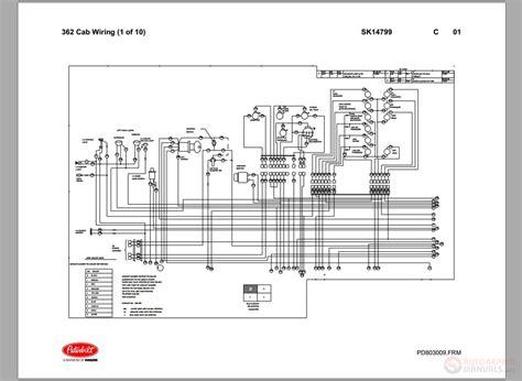 peterbilt  ac wiring diagram wiring diagram