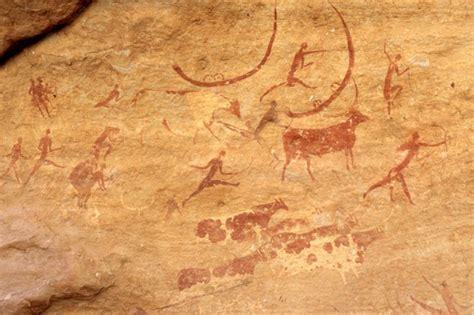 fotos de argelia pinturas rupestres de tassili najjer