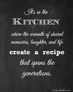 It's in the... Recipe Life Quotes