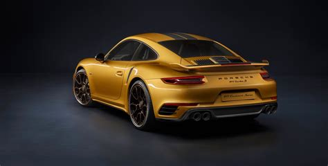 new porsche 911 turbo porsche 911 turbo s exclusive series is the most powerful