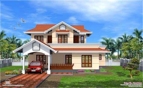 Design House Model by February Kerala Home Design Floor Plans Home Plans